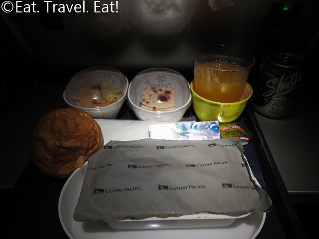 Cathay Pacific Dinner- Layout