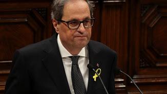 El president de la Generalitat, Quim Torra (Reuters)