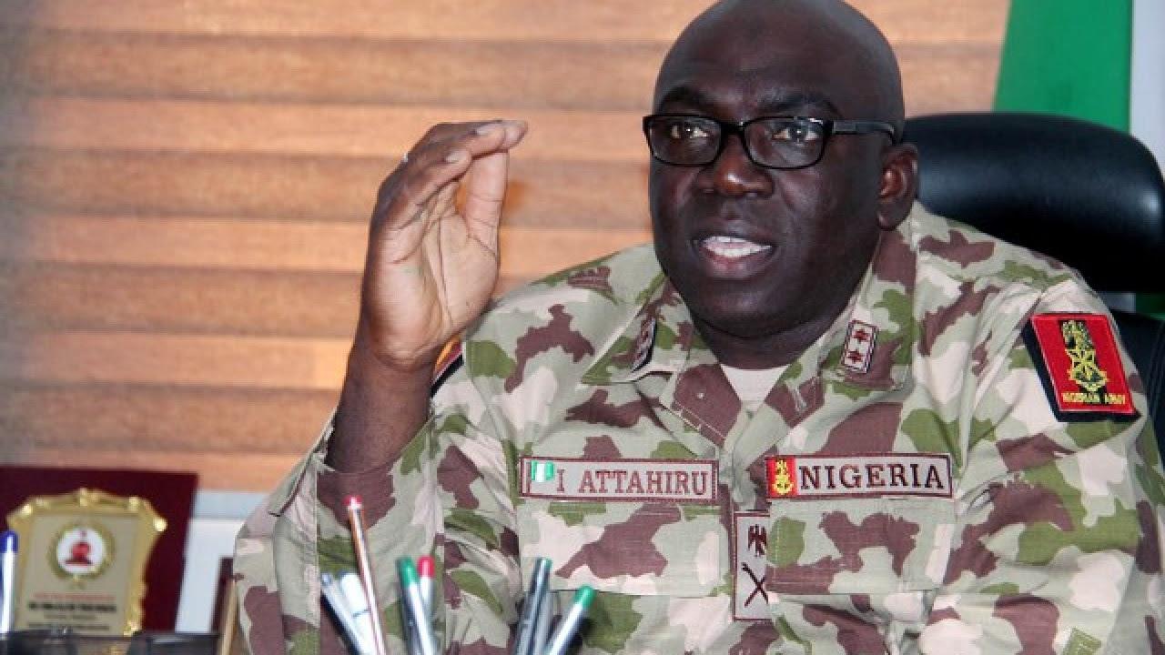 IChief of Army Staff brahim Attahiru
