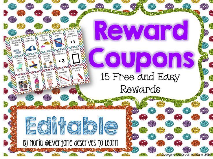1000+ ideas about Free Rewards on Pinterest   Classroom rewards ...