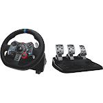 Logitech G29 Driving Force USB Wheel and Pedals Set for PS3/PS4/PC and Power Adapter