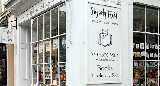 Slightly Foxed - Indie Bookshop Feature #7