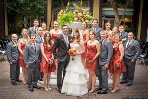 ~ a gorgeous wedding with a fall color palatte ~   www