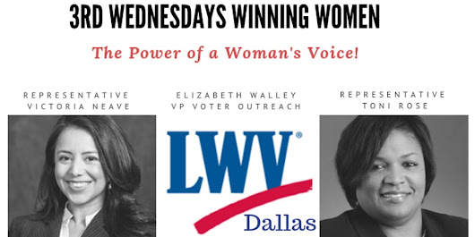 The Power of a Woman's Voice - 3rd Wednesdays Winning Women