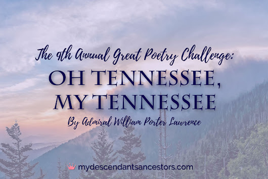 """Oh Tennessee, My Tennessee"" (Poem) 