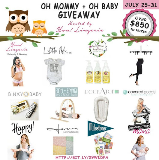 OH MOMMY + OH BABY GIVEAWAY (July)