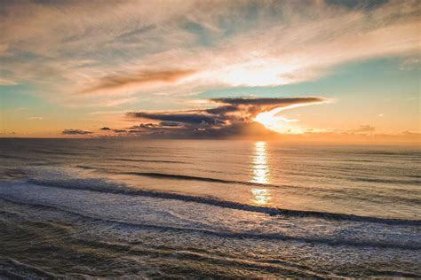 love heart beach sunset ocean  stock photo negativespace