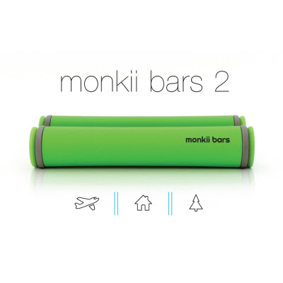 Work Out Anywhere With monkii bars 2