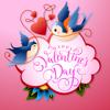 QUY LE - Happy Valentine's Day Sticker artwork