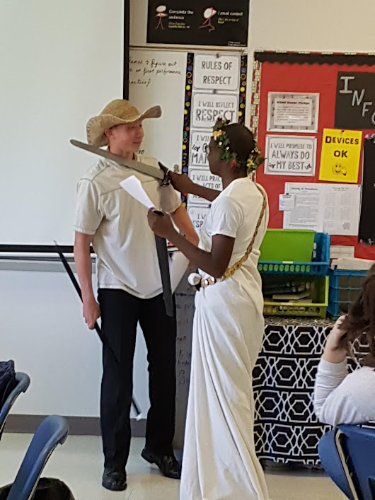Literature Performance Odyssey with Drama and Student Leadership
