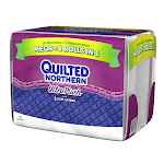 Quilted Northern Ultra Plush Toilet Paper, 18 Mega Rolls, White