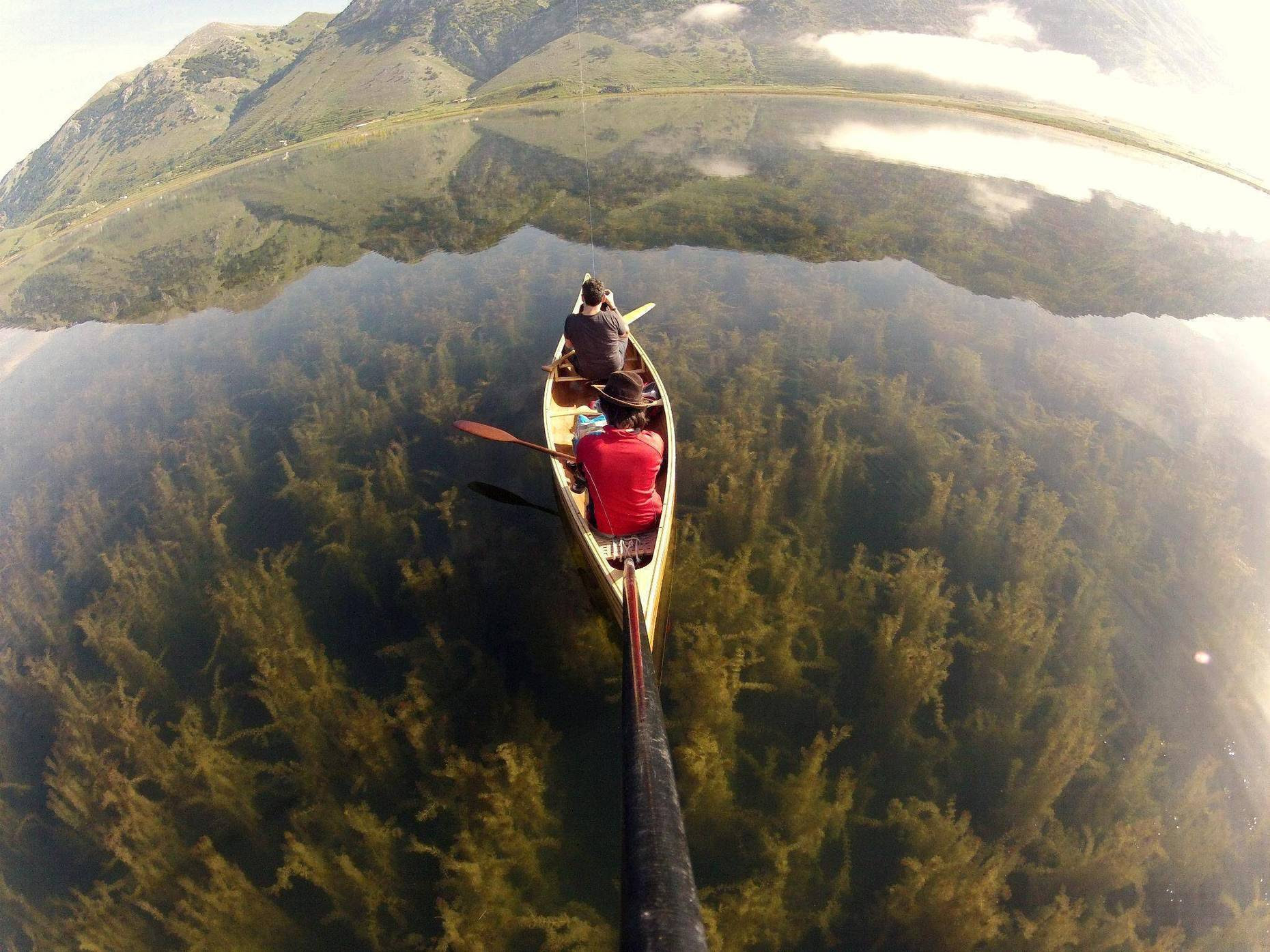 Italy Crystal Clear Lake
