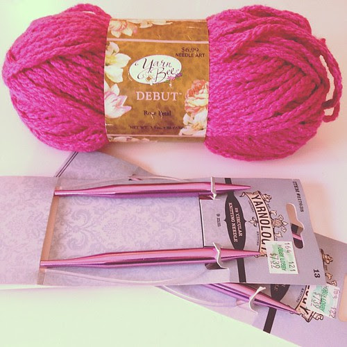Day123 Going to attempt to teach myself to knit 5.3.13 #jessie365
