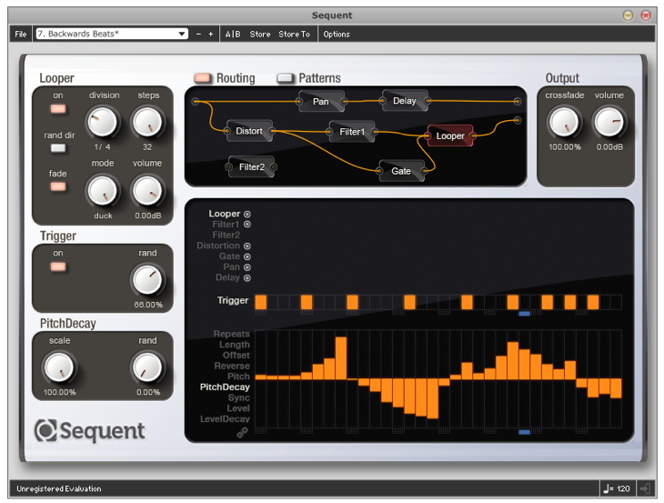 Loomer Sequent Sequenced Modular Looper FX AU RTAS VST Plugin