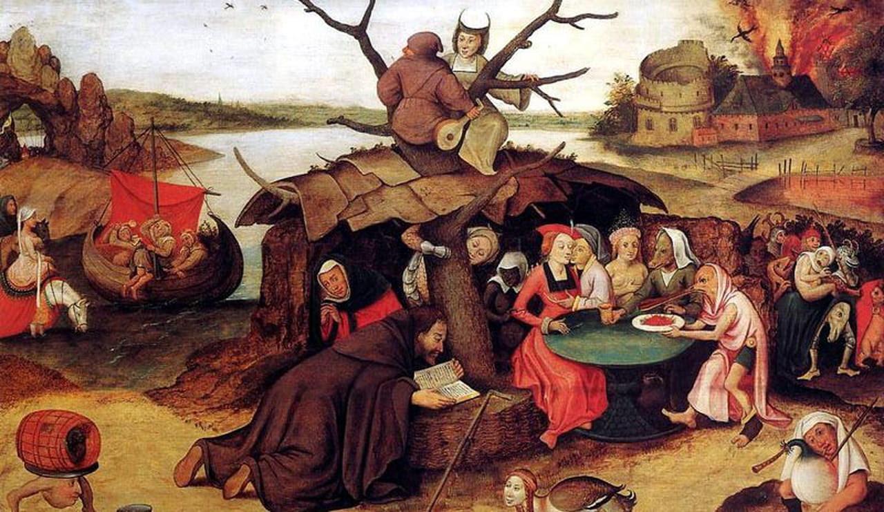 """Résultat de recherche d'images pour """"la tentation de saint antoine bruegel"""""""