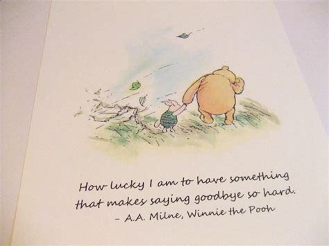 Winnie The Pooh Goodbye Quotes