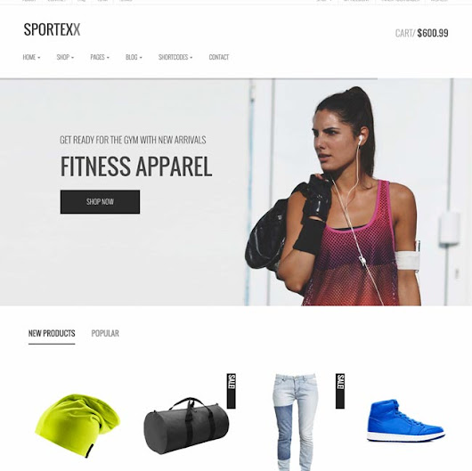 15+ Best Sports shop Wooocommerce Themes 2016 - DesignMaz