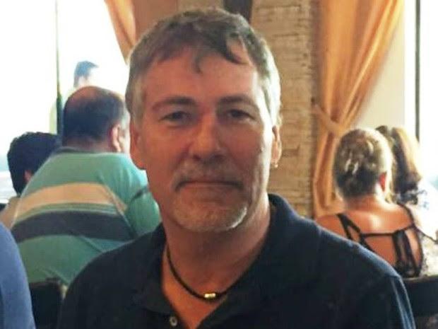 Peter Piotraschke tinha 59 anos e faleceu a bordo do navio Cap San Nicolas (Foto: Arquivo Pessoal)