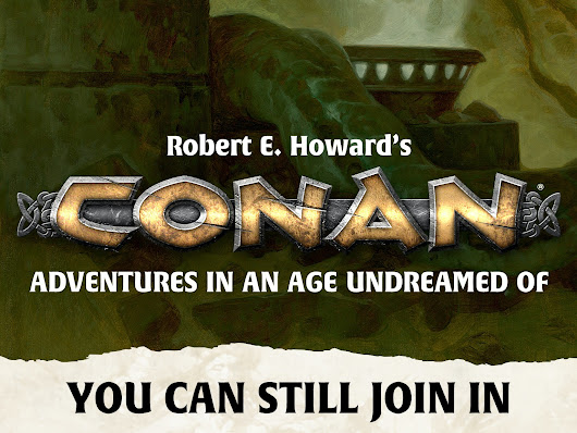 Robert E. Howard's Conan Roleplaying Game by Chris Birch, Modiphius —  Kickstarter