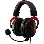 HyperX Cloud II Pro Wired Gaming Headset, Red KHX-HSCP-RD