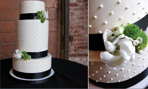 I think mini dessert bars with smaller size wedding cakes are the next big