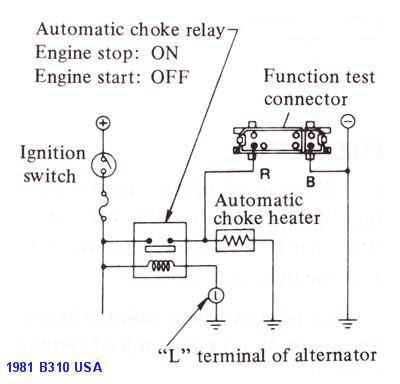 Tech Wiki Electric Choke Wiring Datsun 1200 Club