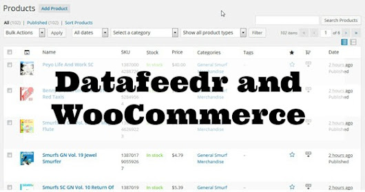 Using Datafeedr and WooCommerce for Affiliate Site