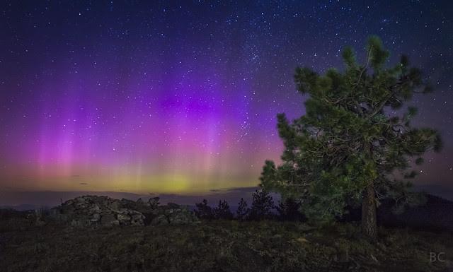 Aurora in Oregon