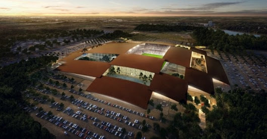 Bjarke Ingels Group unveils plans for massive solar-powered sports complex in Austin