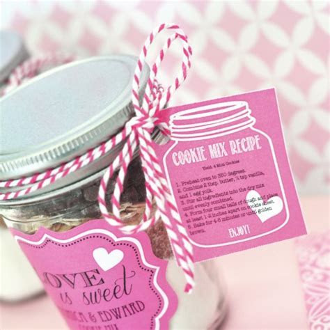 Cookie Mix Mason Jar Recipe Tags   Wholesale