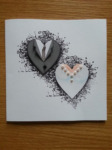 Unique Designs of Handmade Wedding Anniversary Cards