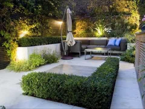 Arte y jardiner a dise o de jardines modernos - Diseno de jardines modernos ...