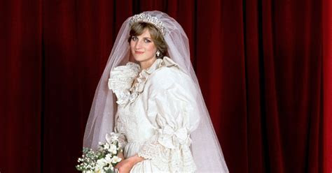 Princess Diana's wedding dress   a look back at her iconic
