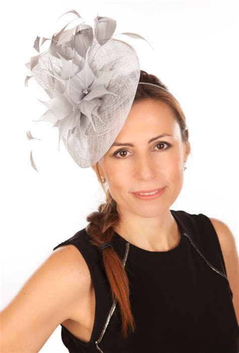 Snoxell Gwyther   Fascinator (Silver)   Fascinators