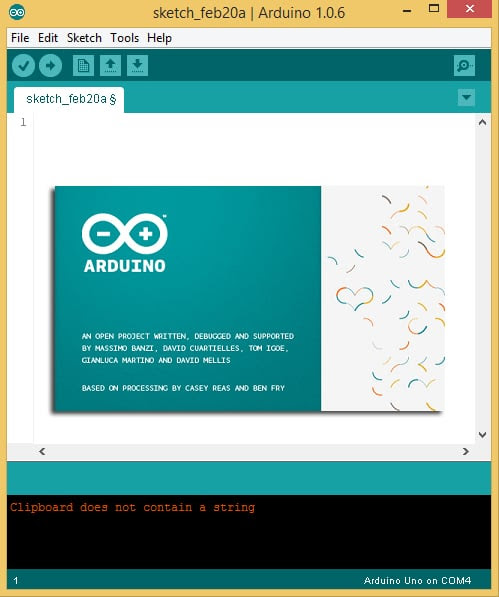 Arduino Basics - Installing the Software