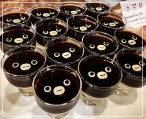 しっかり苦めのペンギンコーヒーゼリー。こっち見るな感。