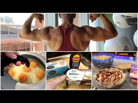 Un día en mi dieta de volumen | Consejos para el crecimiento muscular