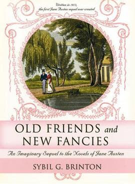 Cover of Old Friends and New Fancies, by Sybil...