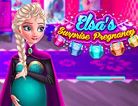 Elsa's Secret Pregnancy   Girl Games