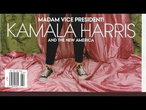 Kamala Harris Wears Chuck Taylors In Magazine Cover