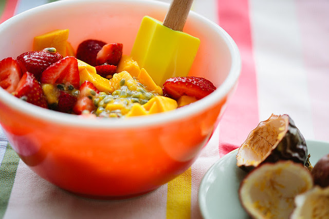 strawberry mango passion fruit crisp