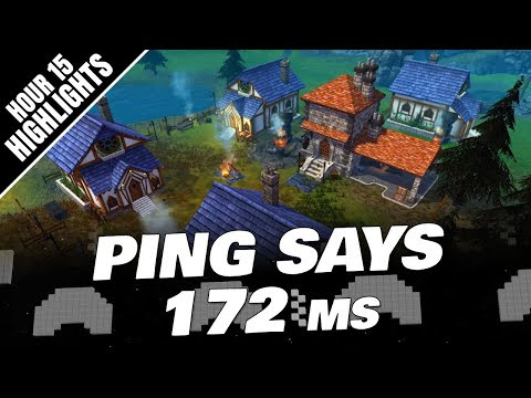 PING Was 172 ms Says NoPing! LEGENDS OF ARIA Gameplay (Hour 15 Highlights)