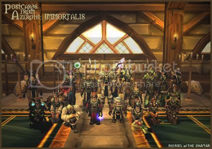 Postcards of Azeroth: Immortalis, by Rioriel Ail'thera