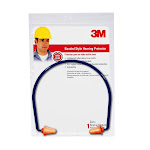 3m 90537-80025t Banded Style Hearing Protector, Orange, 28 Db