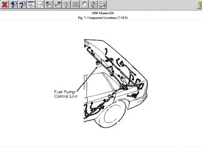 1995 Mazda Miata Fuel Pump Wiring Diagram
