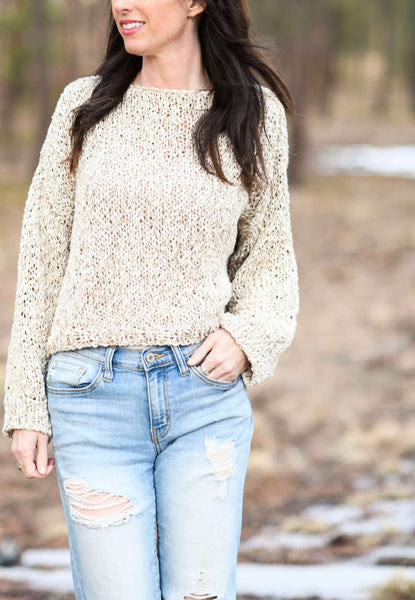 Knit Kit - Easy Vibes Slouchy Pullover