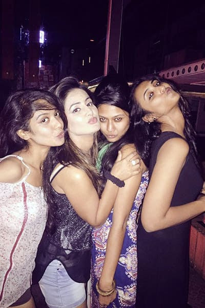 Hina Khan's party click