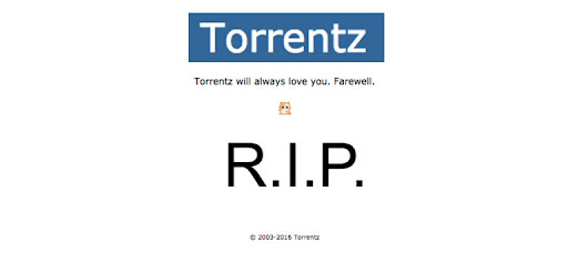 Largest Torrent Search Engine - Torrentz.eu Shuts Down
