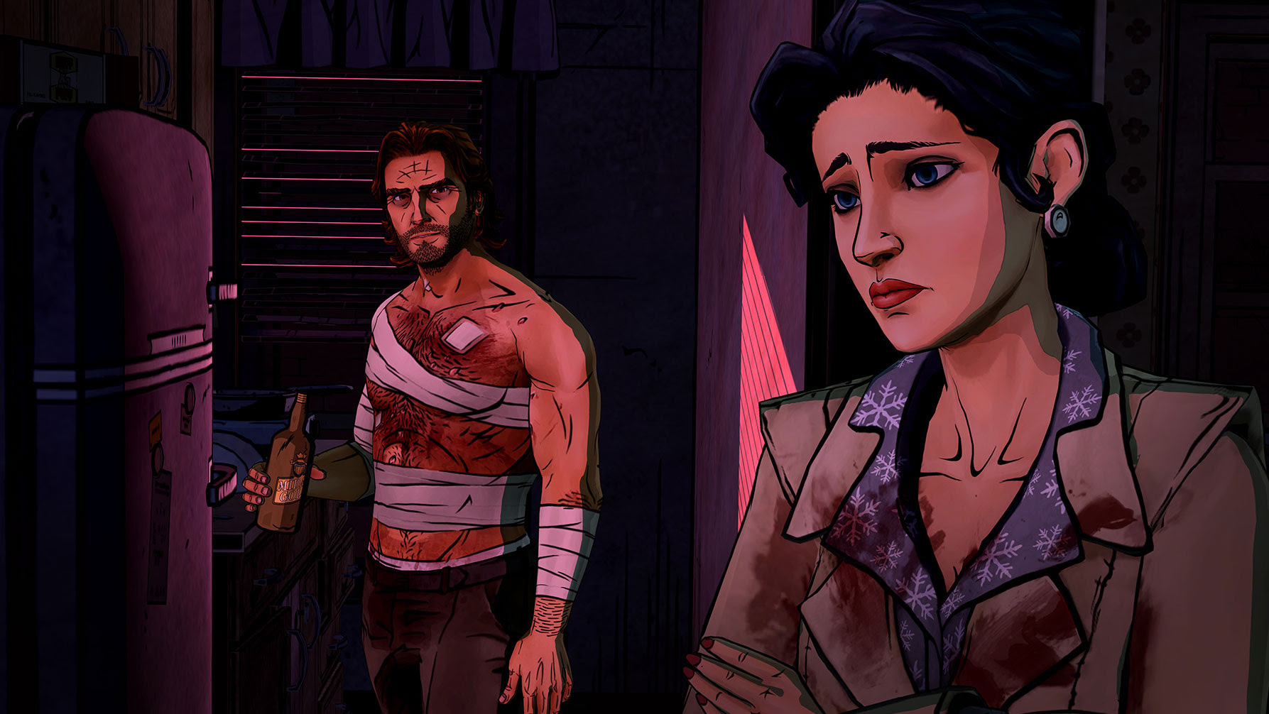 Telltale is teasing Comic-Con news, and fans are hungry for more Wolf Among Us screenshot