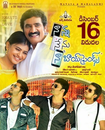 Naanna Nenu Naa Boyfriends 2016 UNCUT Dual Audio Hindi 720p HDRip 1.1GB